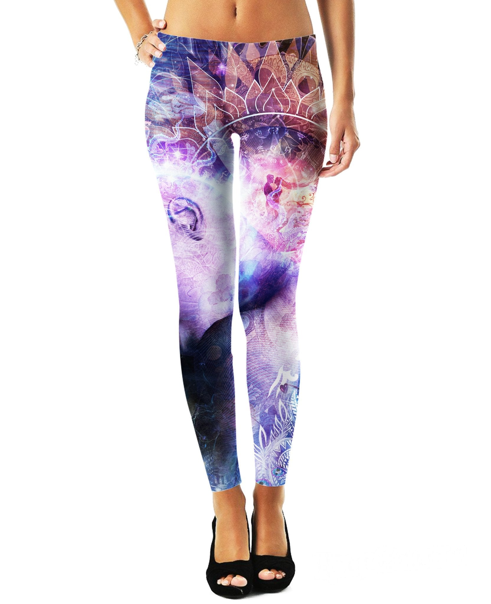 A Prayer for the Earth Leggings/Plus Sizes Available