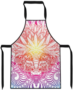 Weed Goat Cooking Apron