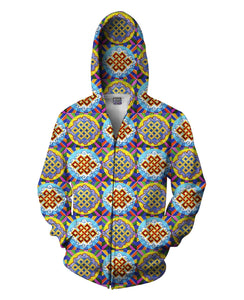 Infinite Wisdom Zip-Up Hoodie