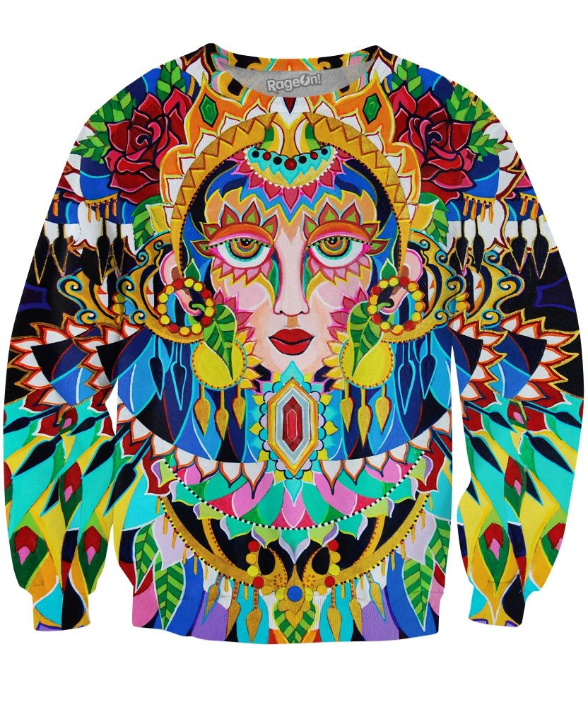 Peacock Crewneck Sweatshirt
