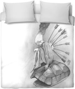 Out Of My Shell Duvet Cover