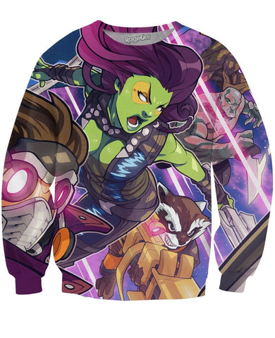Guardians of the Galaxy Crewneck Sweatshirt