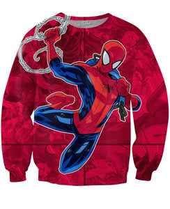 The Amazing Spiderman Crewneck Sweatshirt