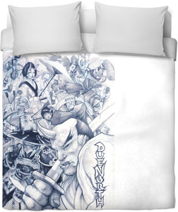 Jacob Kearny's Due North Duvet Cover