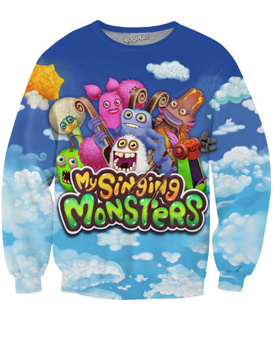 My Singing Monster Crewneck Sweatshirt