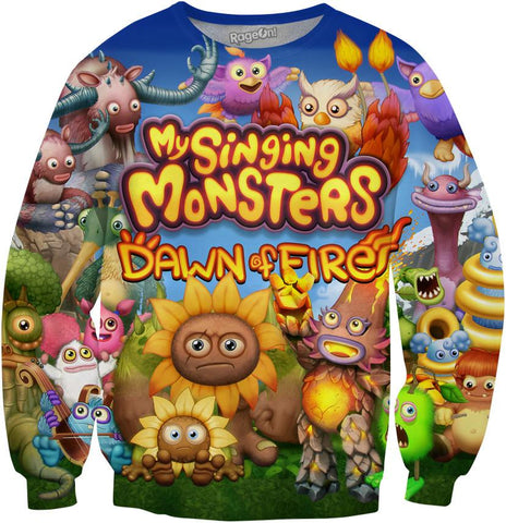 Dawn of Fire Crewneck Sweatshirt