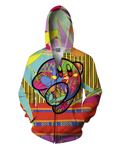 Dashing Away Zip-Up Hoodie