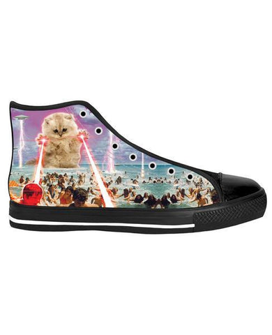 ROHTP The Kitten No One Loved Black Sole High Tops