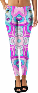 Bubbe Girl Mandala Leggings