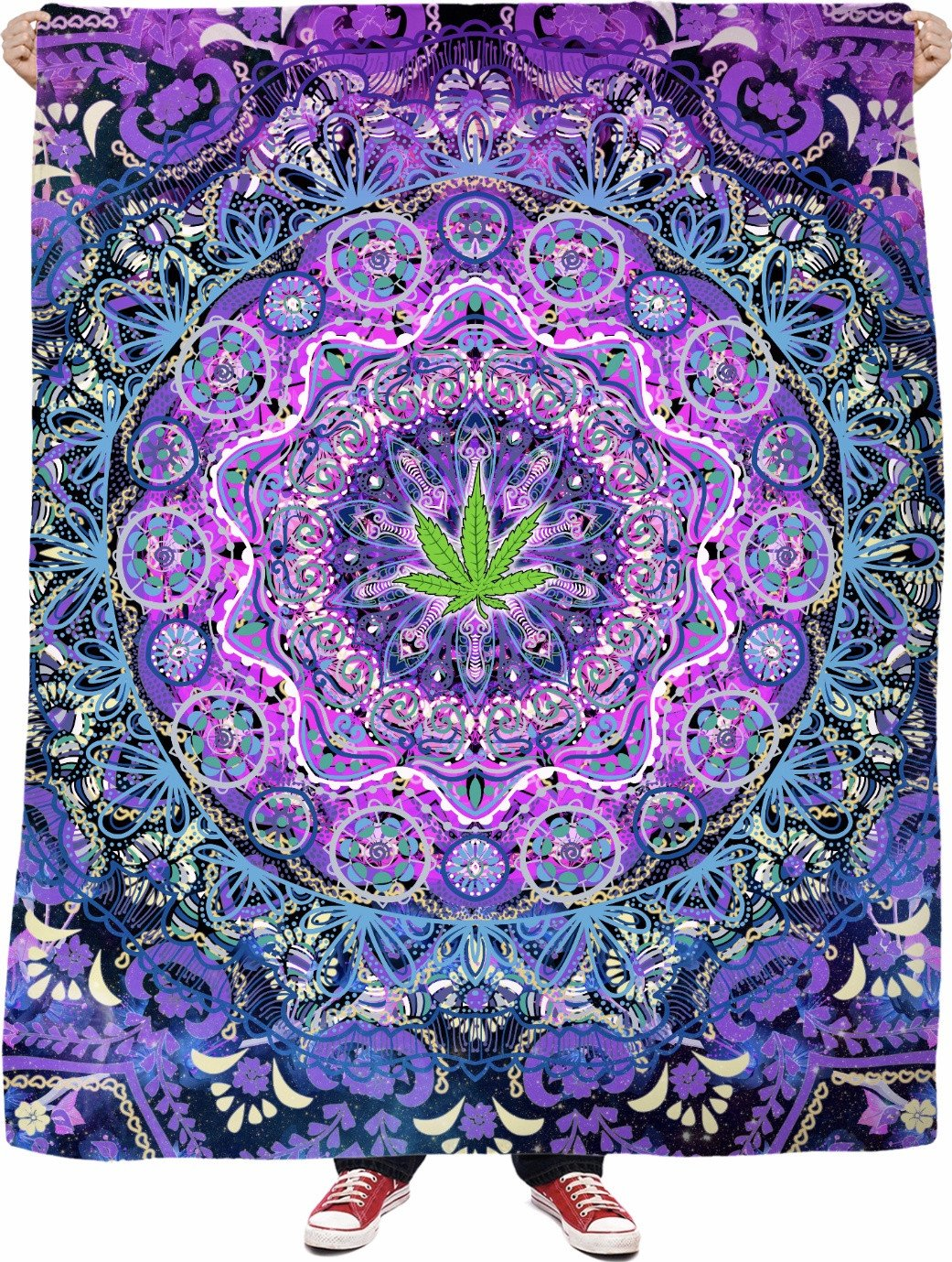 Nature's Medicine - Fleece Blanket