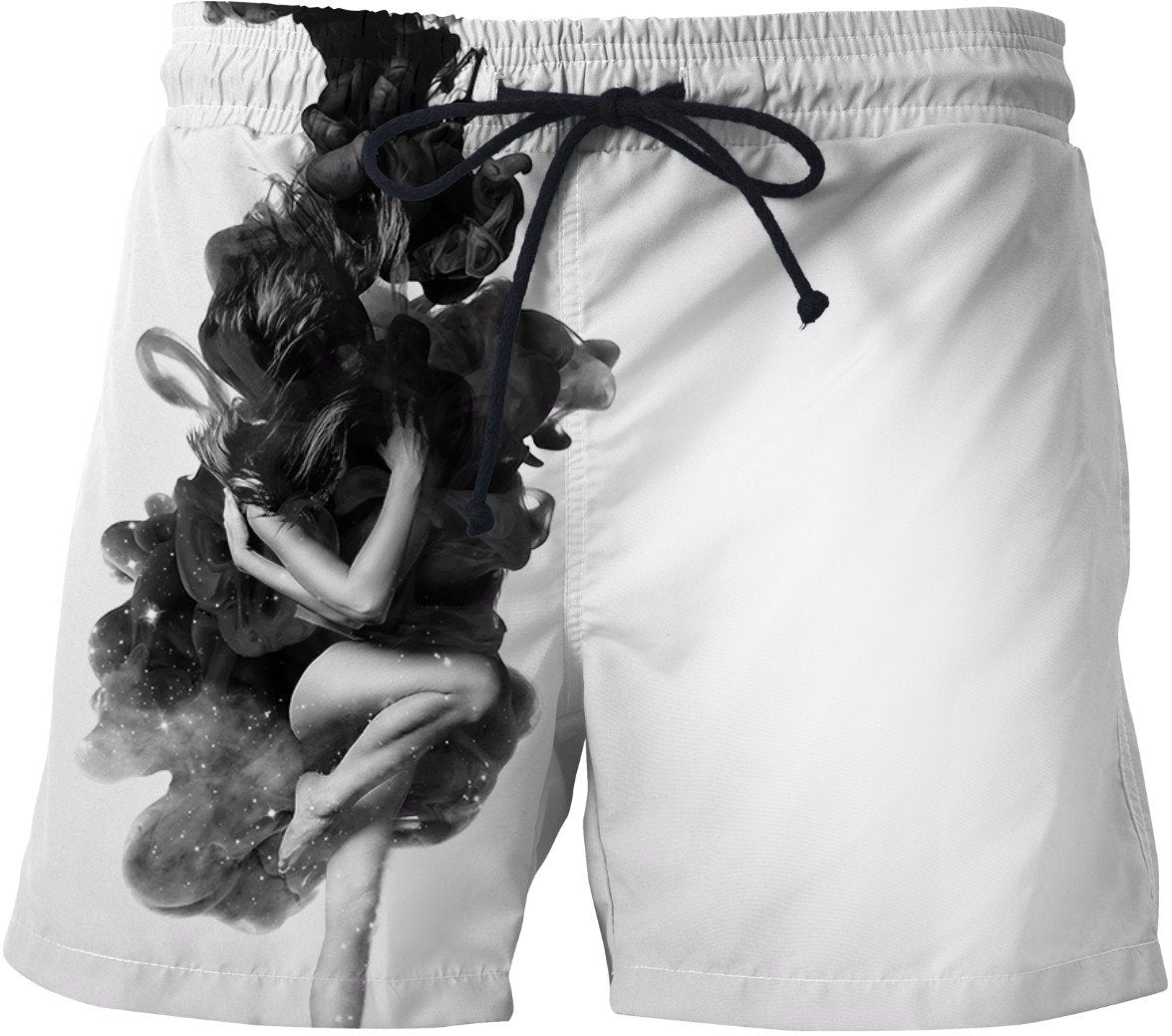 The born of the universe Swim Shorts