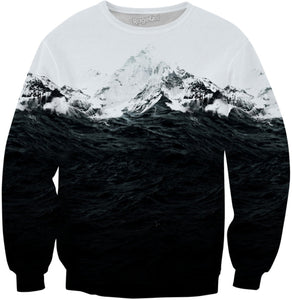 Those waves where like mountains Sweatshirt