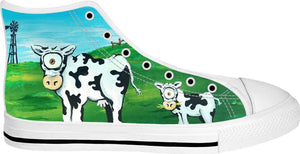 Udder Enchantment High Tops