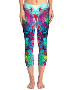 Hyperdimensional Butterfly 3 Yoga Pants