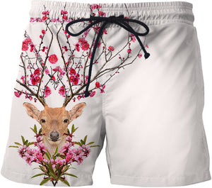 Spring deer Swim Shorts