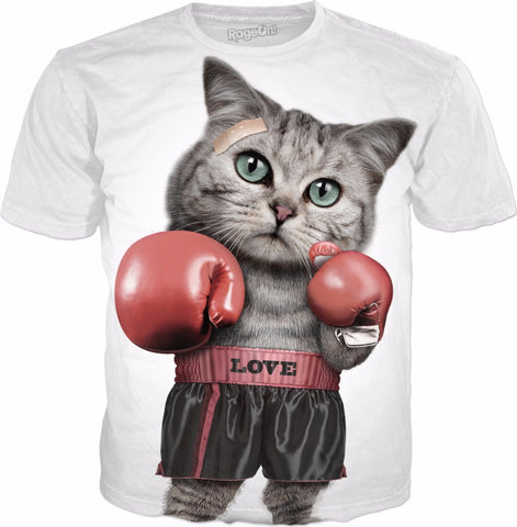 BOXING CAT T-Shirt