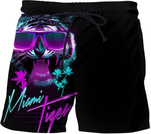 Miami tiger Swim Trunks
