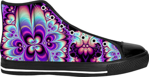 ROHT Purple Trip High Tops Sneakers