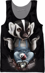 Badger Don't Care Tank Top