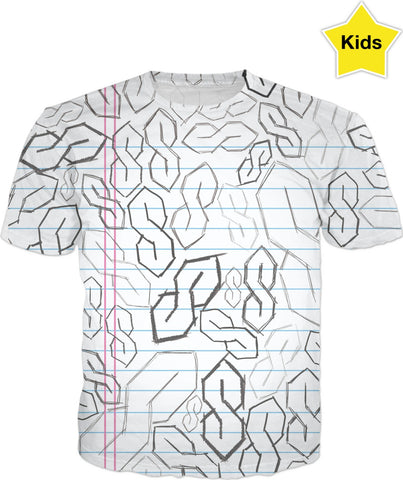 "The Old Skool ""S"" Kids T-Shirt"