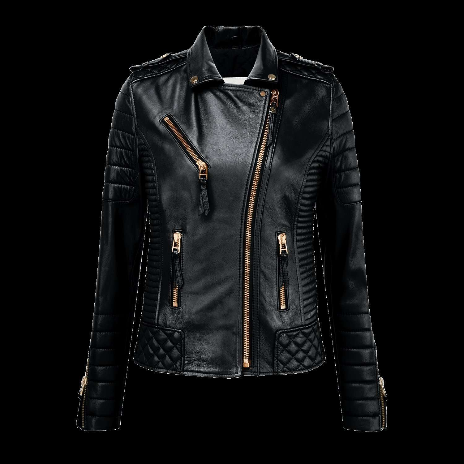 SINDHRI - GLOSS BLACK WOMEN BIKER