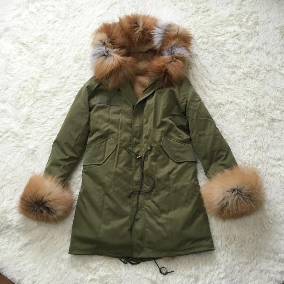SHERNI - THE ARMY GREEN PARKA