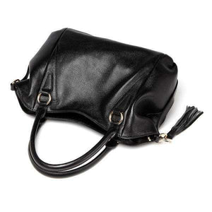 SERENA - LEATHER TOTE HANDBAG