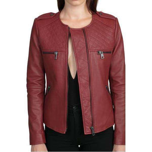KARACHI - LEATHER BIKER JACKET