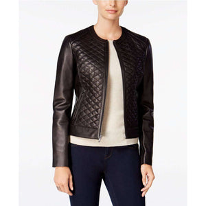 PEKHAWAR - QUILTED LEATHER JACKET