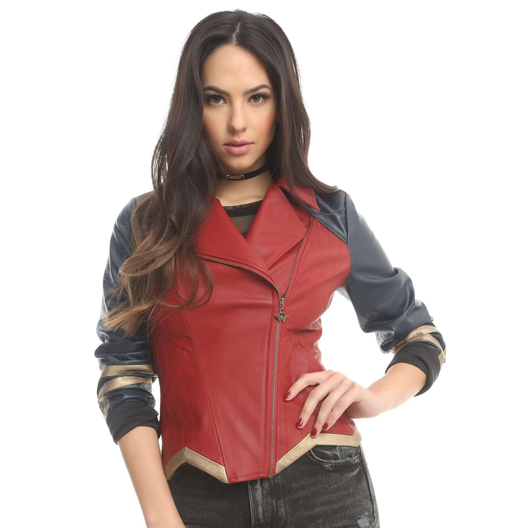 ASHRAFI - WW LEATHER JACKET
