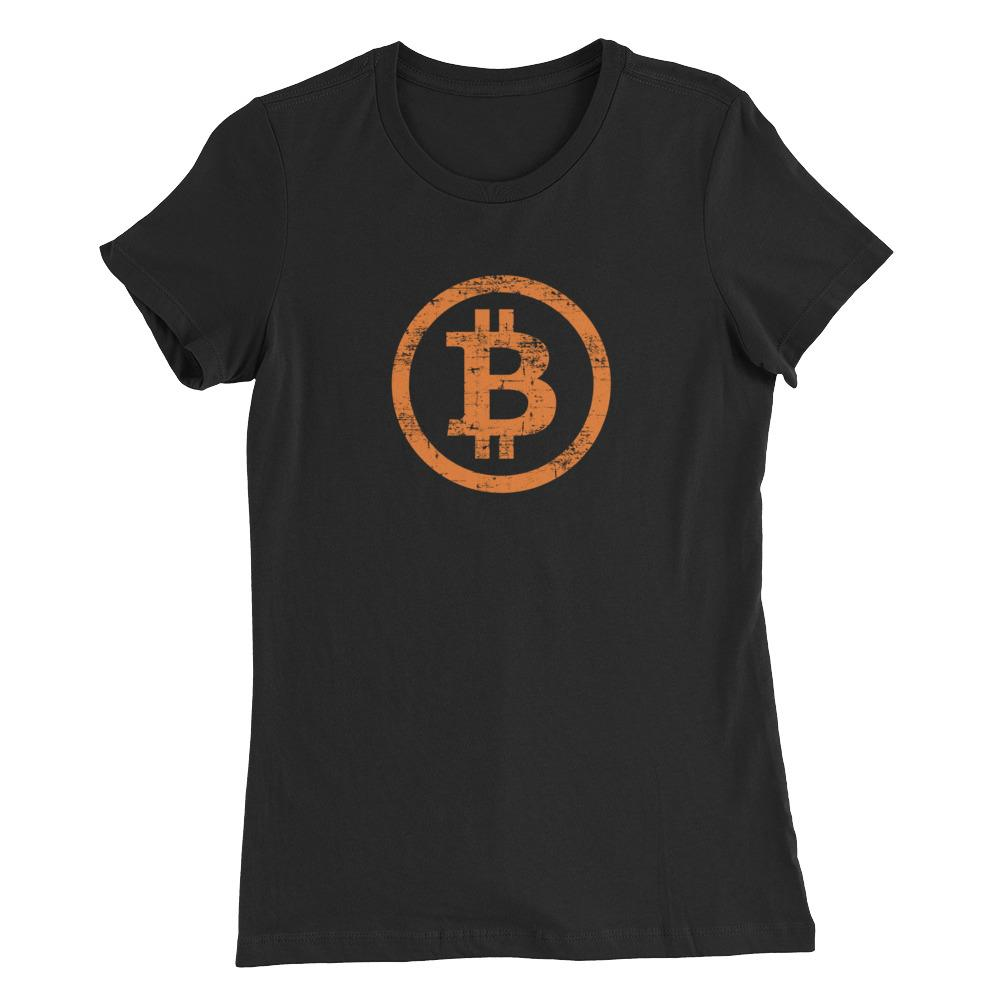 Women's Vintage Bitcoin (Orange) - Cryptosphere
