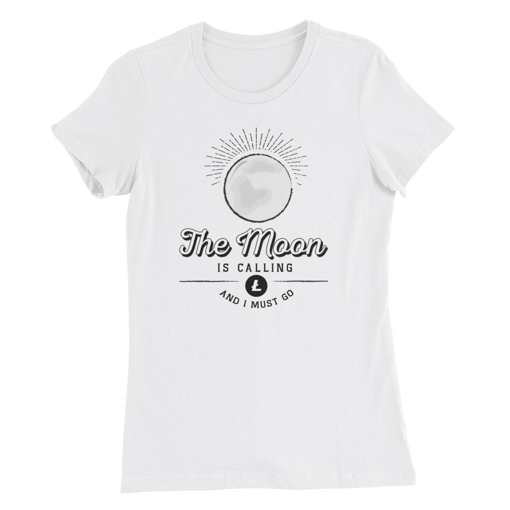 Women's Litecoin Moon (White) - Cryptosphere