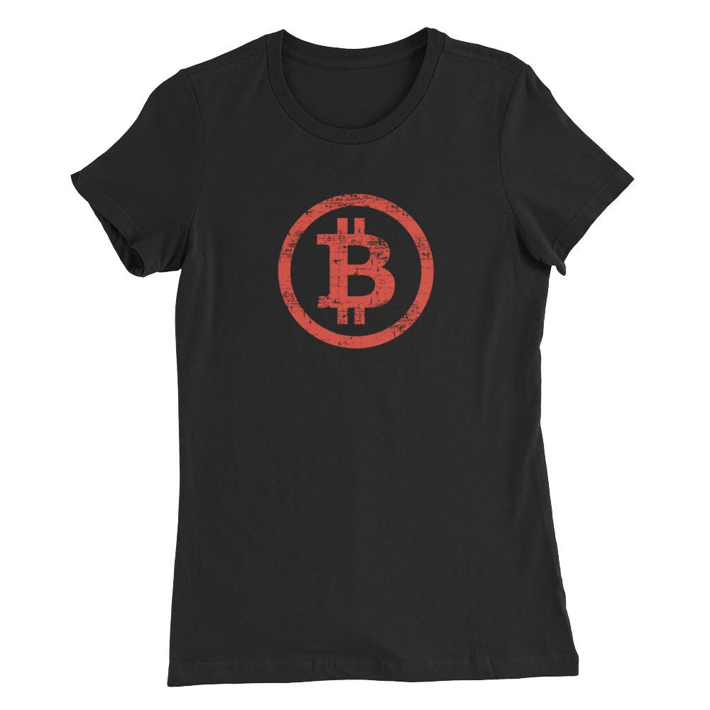 Women's Vintage Bitcoin (Red) - Cryptosphere