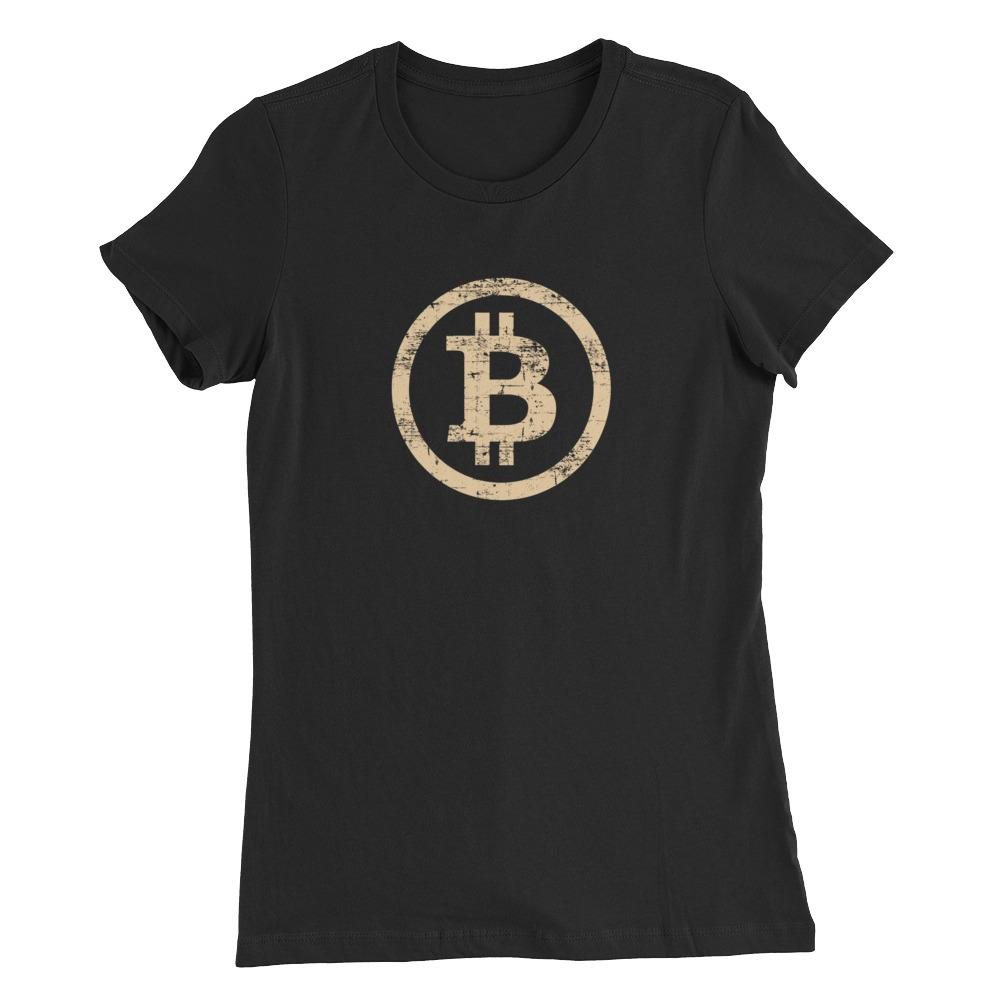 Women's Vintage Bitcoin (Tan) - Cryptosphere
