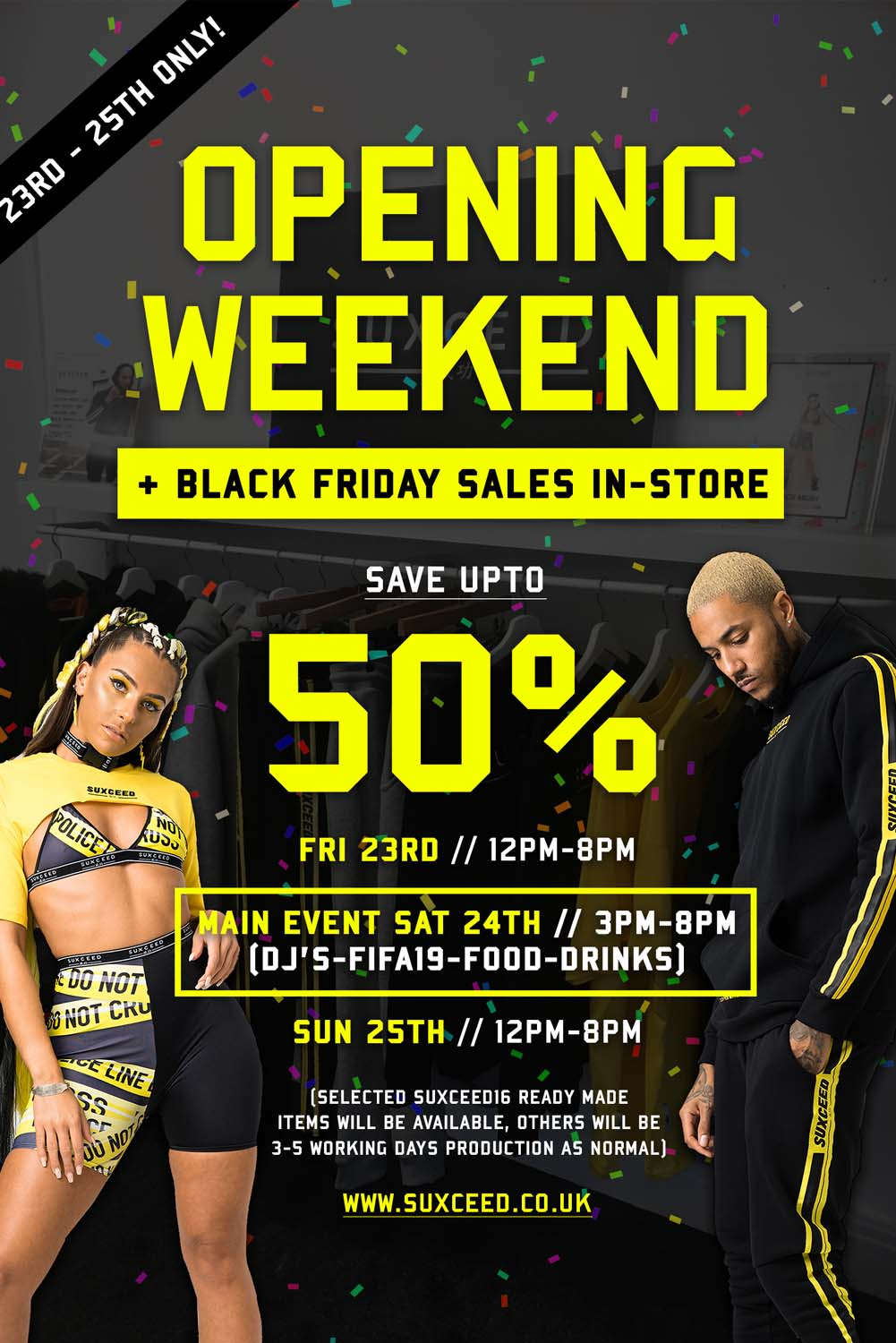 opening store weekend black friday
