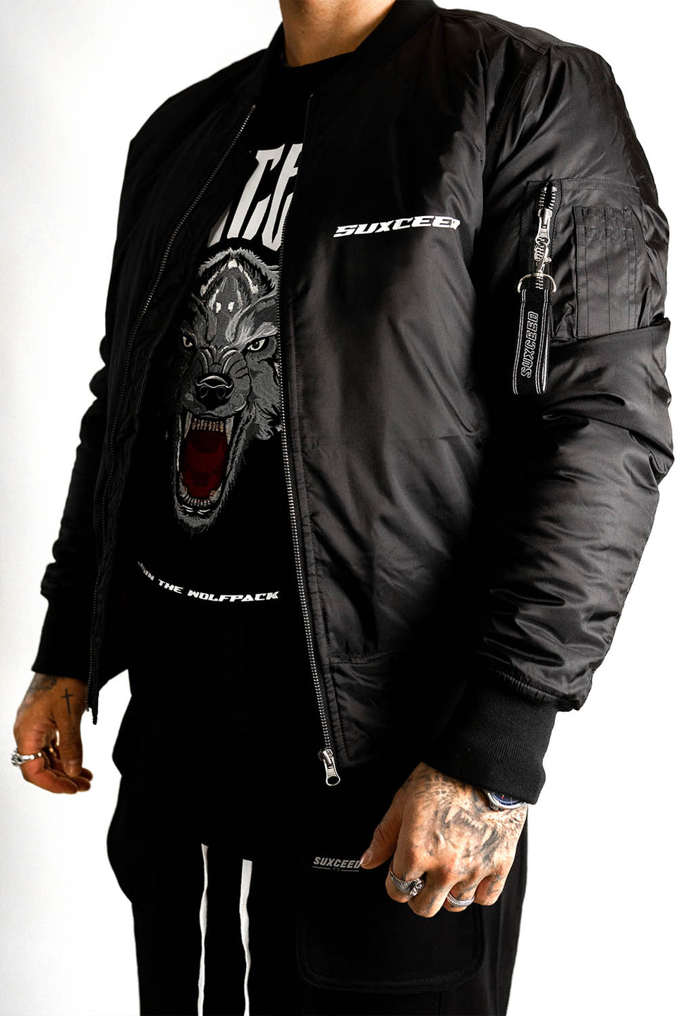 FEARLESS DRAGON Bomber Jacket (LIMITED)