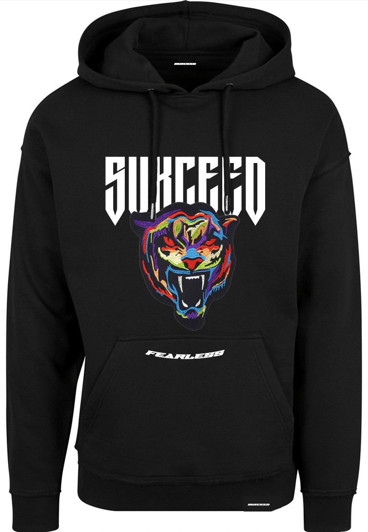 FEARLESS TIGER Oversized Hood