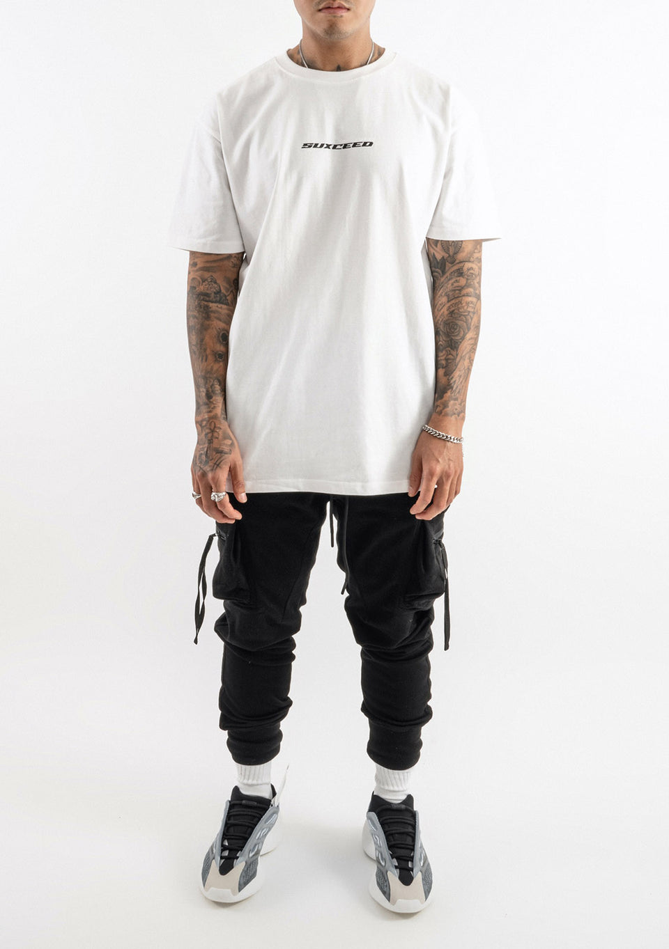 Suxceed Reflekt Oversized Tshirt (WHITE)