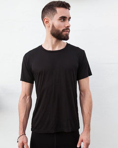 TikiYogi Black Men's Organic T