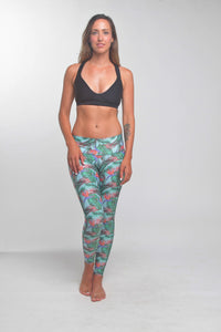 TIKIYOGI® Flora, Yoga-Surf Environmental Friendly Tights