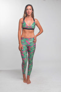 TIKIYOGI® Bali Sunset, Yoga-Surf Environmental Friendly Tights