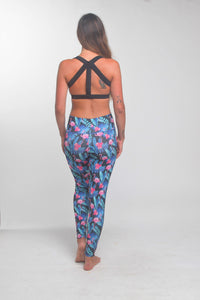 TikiYogi Flora Flamingo, Yoga-Surf Environmental Friendly Tights