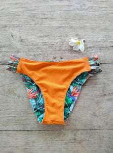 TikiYogi Flora Three Straps Reversible Bikini Brief