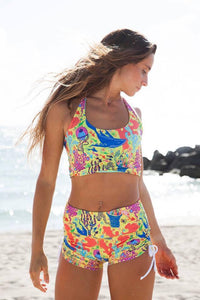 TIKIYOGI® Flamingo Shorts
