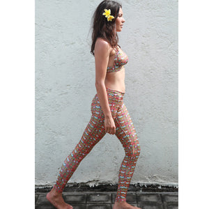 TikiYogi Totem, Yoga-Surf Environmental Friendly Tights
