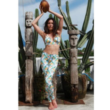 TikiYogi Orchid, Yoga-Surf Environmental Friendly Tights