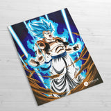 Super Saiyan Blue - Huge Poster