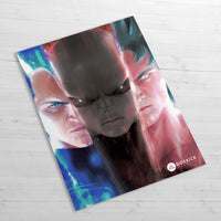 Vegeta & Goku vs Jiren - Huge Poster