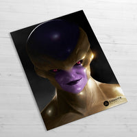 Golden Freeza - Huge Poster