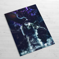 Zabuza Demon Walking - Huge Poster